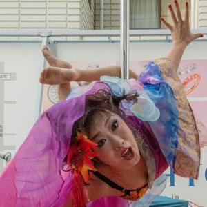 鷹島姫乃 ポールダンス 大須大道町人祭