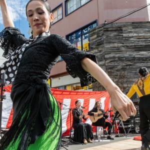 スペイン舞踊団DANZAK 大須大道町人祭