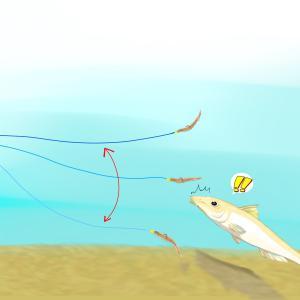 【東京湾】船シロギス 胴突き(胴付き)仕掛け/釣り方超基本【これだけで釣れる】