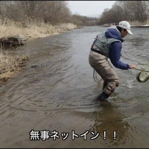 【雪代の北海道・フライフィッシング】【ニジマス?アメマス?】【釣りバカ親子の釣行記】