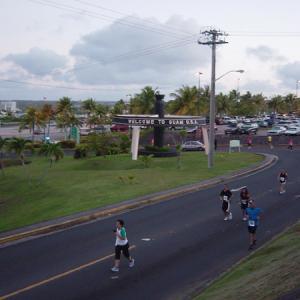 グアム2020年初ラン 週末は空港周辺を走る!