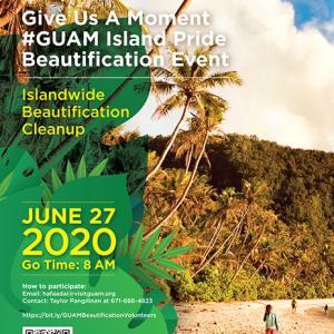 グアム政府観光局による島内清掃美化プロジェクトが延期に