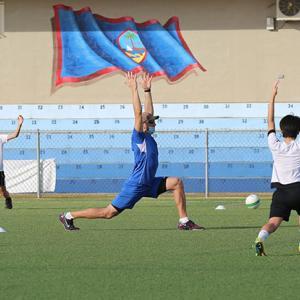 グアムサッカー 練習が徐々に再開 新型コロナウイルス感染予防には配慮