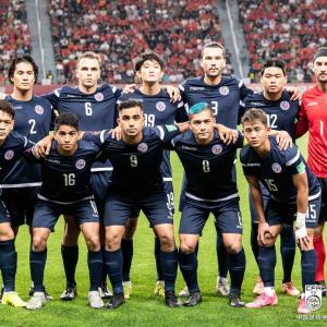 サッカーW杯予選 グアムは中国に敗れる