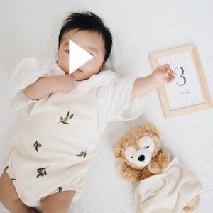 【成長記録】生後3ヶ月が経ちました!まさかの寝返りマスターとぐずり期