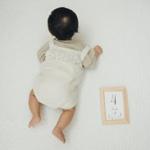 【成長記録】生後4ヶ月が経ちました!4ヶ月検診で聞いたこと