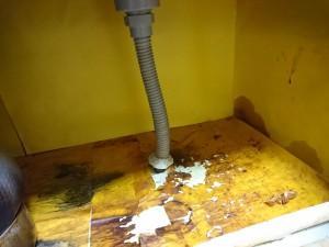 キッチンの底板が腐る原因