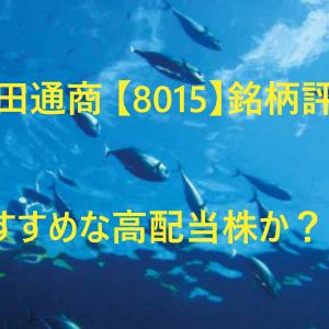 豊田通商 【8015】銘柄評価。おすすめな高配当株か?