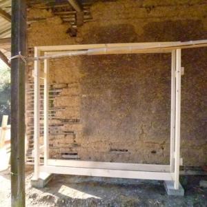 薪棚を作る(前)