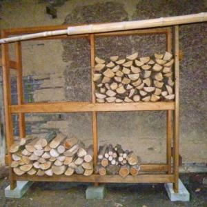 薪棚を作る(後)