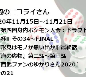 【日本語読めない卓】今週のニコライさん(2020年11月15日~11月21日)