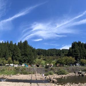 1泊500円#滝谷森林公園キャンプ場は予約不要 7時チェックインで設営開始