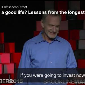 幸せになるためにするべき、たった1つのこと - ハーバードの研究