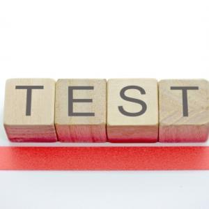 公立中学1年 期末テスト1週間前の日曜日