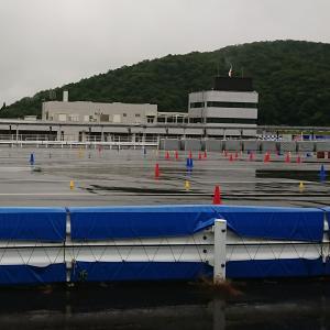 雨のプレ大会① 岡山国際サーキット