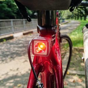 デイライトで安心安全UPです!それはボントレガーのFlare R City Rear Bike Light