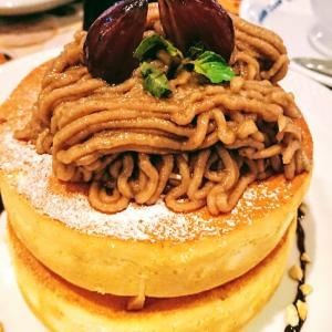 ここはカロリー天国なのか地獄なのか?それは星乃珈琲の栗のスフレパンケーキ