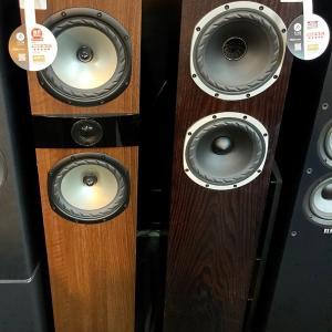 【ファイン・オーディオ】のトールボーイスピーカー「Fyne Audio F501とF303」の試聴