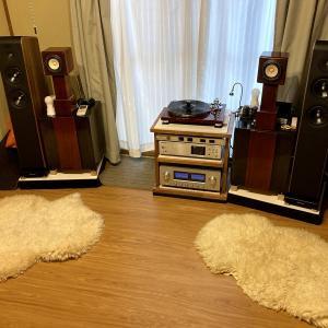 【ウッドカーペット】築50年 団地の和室が高音質なオーディオルームに大変身!