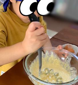 4歳ができること おやつ作り