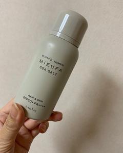 髪の日焼け止め ナプラ MIEUFA(ミーファ)フレグランスUVスプレー