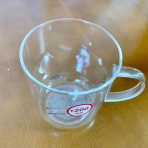 200円「透明のカップ」でカフェタイムの気分が上がりました