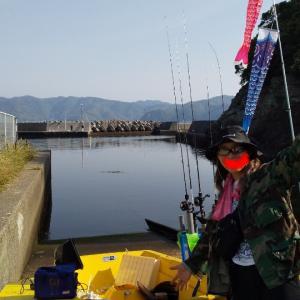 ワイルド女史と2馬力釣り