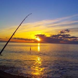 高知サーフから、太平洋の初日の出