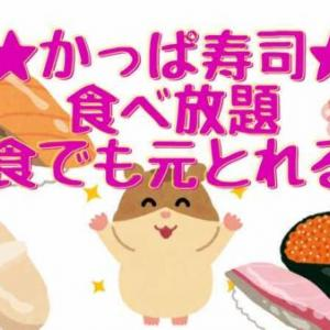 【かっぱ寿司食べ放題】41歳・少食・女が元をとる方法