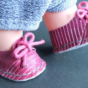 カジュアルな洋服にピッタリ キューピーの足を彩る靴たち! (型紙あります)