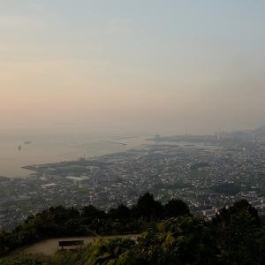 趣味の写真館 「 展望台から見る四国中央市 」