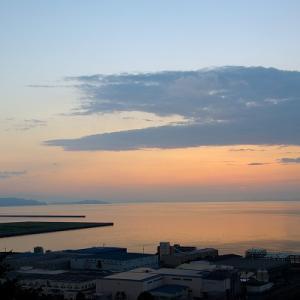 趣味の写真館 「 三島川之江港の夕景 」