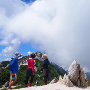 【山活】進め!へっぴりーズ登山隊♪《燕岳2021 vol.1》