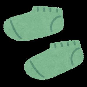 靴下整理は何故か夏