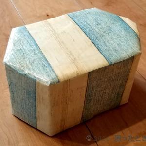 牛乳パックで正座椅子の作り方!大人が座れる耐荷重で姿勢矯正と膝痛・腰痛予防に!
