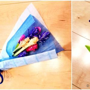 お花の作り方!折り紙で簡単に子供でもできるおしゃれで可愛い立体花束を作ろう!