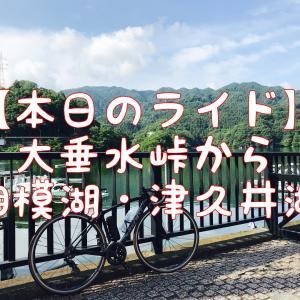 【本日のライド】大垂水峠から相模湖・津久井湖を走ったよ!(20210626)