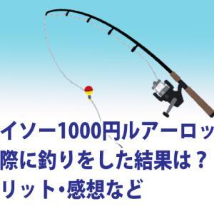 ダイソーの1000円のルアーロッドは使えるか?実際に釣りをしてきたその結果は?メリット・感想など
