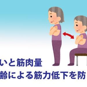 老いは筋肉量の低下が原因 加齢による筋力低下を防ぐ 筋トレは何歳でも効果があるの?