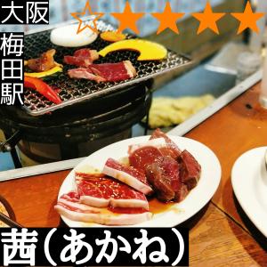 茜(梅田駅・焼肉)