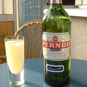 (こだわりの酒)ビールの代わりにペルノー酒