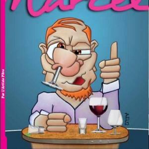 フランス語の慣用表現「鼻の中にグラスを入れる⇒ 酔っ払って」