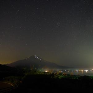星景写真入門 @ 山中湖パノラマ台