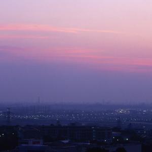 都心の日の出