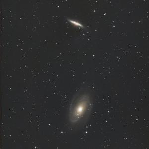 おおぐま座M81,M82