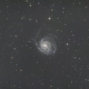 2/21未明M101回転花火