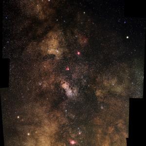 再掲>夏の銀河2態