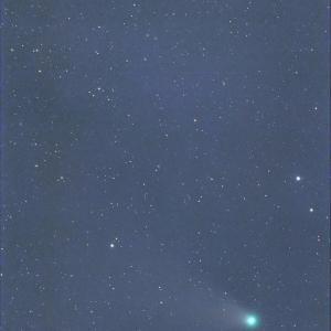 8/13ネオワイズ彗星(とパンスターズ彗星)