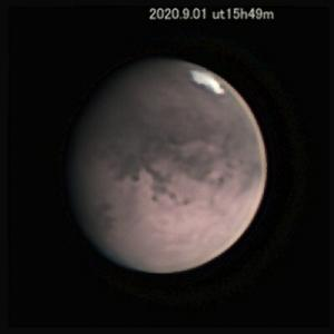 1年前ぐんぐん近付く火星