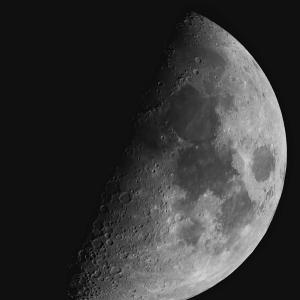 口径6cm鏡対決(月)